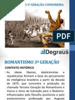 Literatura - Romantismo 3º Geração