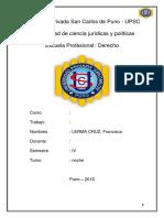 Sucursales Puno Peru Derecho