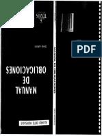 Manual de Obligaciones