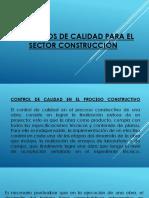 Conceptos de Calidad Para El Sector Construcciön