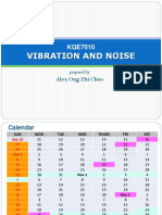 Vibration Noise Course Information 2017 Universiti Malaya