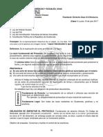 Derecho Notarial IV, Clases 1, 2, 3 y 4.
