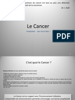 Prophylaxie Du Cancer