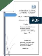 Practica 02 Determinacion del coeficiente de fricción