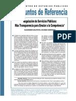 Galetovic y Sanhueza - Regulación de servicios públicos, más transparencia para emular a la competencia.pdf