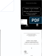 Villar - Tarifas, Tasas, Peajes y Precios Administrativos
