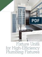 High Efficiency Plumbing Fixtures