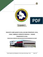 2009 02 16 Actualización Proyecto Transporte Fluvial GENERAL MINERALES 30 MM - 17 Años