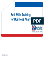 Soft Skill Training for Business Analysis 3504_CN_B1_605_A1