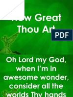 Hw Great Thou Art
