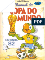 Manual Da Copa Do Mundo 82 - Zé Carioca