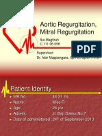 aortic regurgitation case