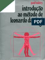 VALÉRY, Paul - Introducao Ao Metodo de Leonardo Da Vinci