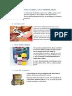 Herramientas Utilizadas en La Marroquinería