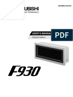 F930GOT-BWD-E - User's Manual JY992D86101-D (11.00)