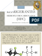 Refrigerantes Hidrofluorocarbonados (Hfc)