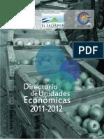 Directorio Unidades Economico 2011 2012 Resumen