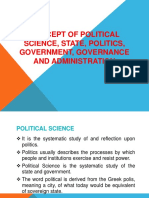 Basis Concept of Political Science