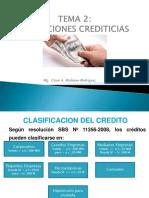 Tema 2 - Operaciones Crediticias