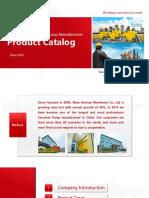 Trailer mounted concrete pump Catalog - Taian Sinotep Machinery Co.,Ltd- Concrete Pump Manufacturer in China
