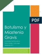 Botulismo y Miastenia Gravis