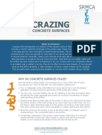 ENews TECH Tip 3 - Crazing Concrete Surfaces