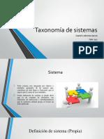 Presentación Taxonomía