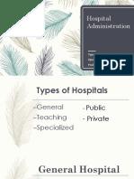 Hospital Administration