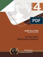 7.- Los Recursos Procesales Penales.