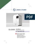 Vfd Cx2000 Manual