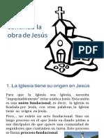 Tema 6 La Iglesia