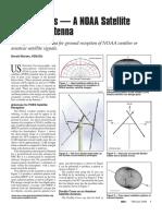 MARTES Double Cross Antenna