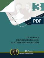 6.- Los Recursos Procedimentales en La Contratación Estatal.