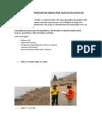 Zonas de Intervención de Riesgo Por Huayco en Huaycan