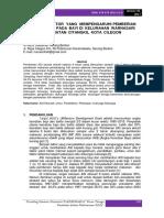18. Analisis Faktor Yang Mempengaruhi Pemberian Asi Ekslusif Pada Bayi Di Kelurahan Warnasari Kecamatan Citangkil Kota Cilegon 2017