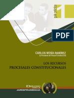 4.- Los recursos procesales constitucionales..pdf