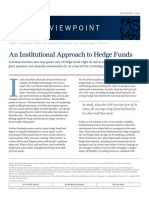 document - finance - hedge fund - private banking group - an institutional approach to hedge funds.pdf