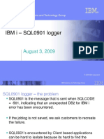 SQL0901 Logger - Education