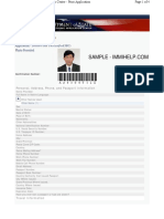 Sample Ds 160 Form Us Visa Application