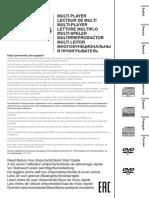 CDJ-2000NXS Quickstart Manual
