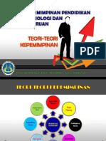 Teori2 Kepemimpinan Dan Kepemimpinan Dan Perubahan