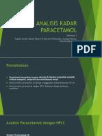 Analisis Kadar Paracetamol