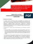 MATRIZ DE ESPECIFICACIONES TÉCNICAS DE LA PRUEBA NACIONAL CLASIFICATORIA DEL CONCURSO PÚBLICO PARA NOMBRAMIENTO DE PROFESORES EN EL I NIVEL DE LA CPM 2010
