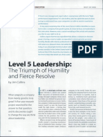 2. Level Five Leadership