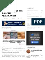 Geological of the Baucau Quadrangle _ Amuzigi