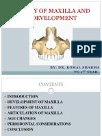 Anatomy of Maxilla and Its Development_ORIGINAL