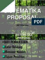 Sistem Matika Proposal
