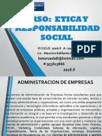 Curso de Etica y Responsabilidad Social