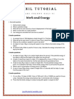 9th Work and Energy Test Paper-3