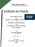 Im Reiche Der Gnosis 1906
